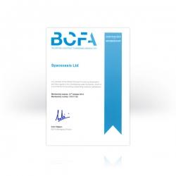 BCFA-certificate