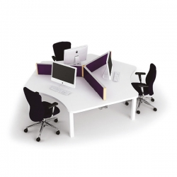 one001-three-person-team-desk-cluster