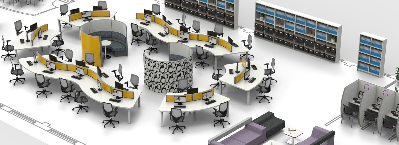 Open Office on open office layout storage