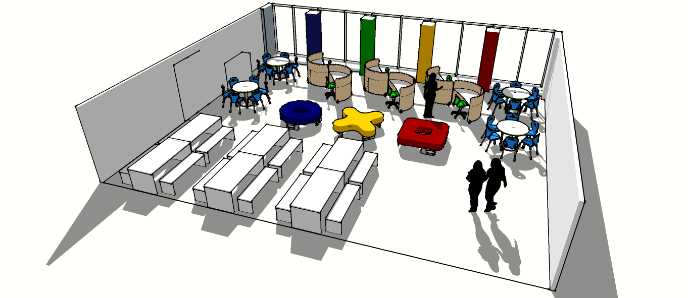 Bournville School & Sixth Form 6th form common room Option One R2 14 05 14