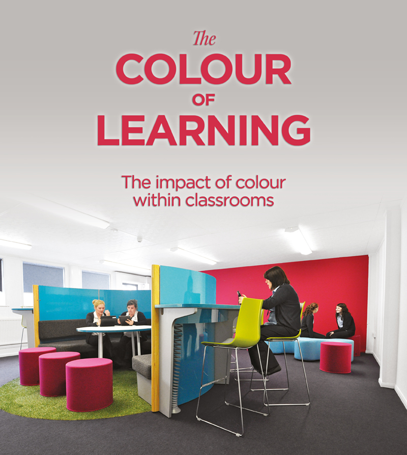 Modern Classroom Blocks ~ The impact of colour within classrooms spaceoasis ltd