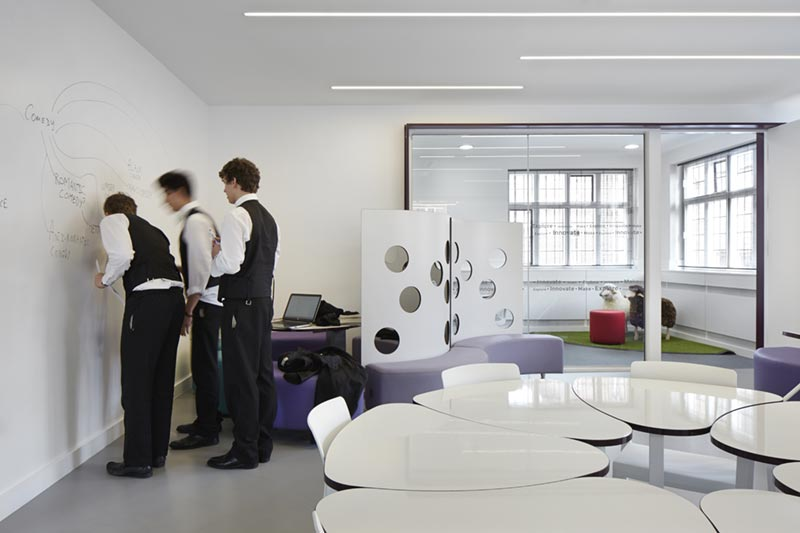 College Classroom Design Standards ~ Inside eton s newest classroom spaceoasis ltd